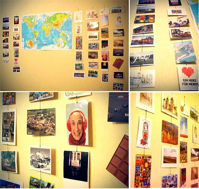 Your (real) postcard walls