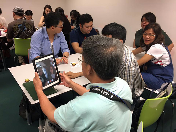 Joint Wuxi-Singapore meetup