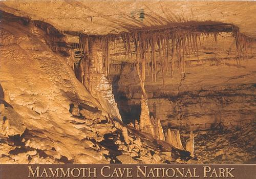 Mammoth Cave National Parc in Kentucky, Californien, USA