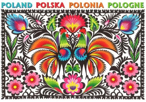 Folk Art Papercut from Poland