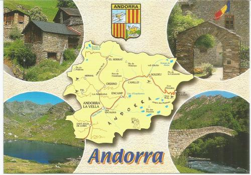 a card from Andorra - only 11 members - I'm lucky :)