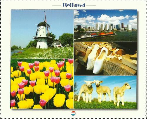 PostCrossing Received from Netherlands - Esther Neela