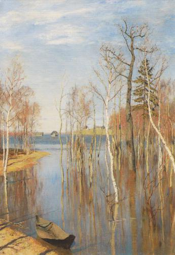 Isaak Levitan. Spring. Great Flood