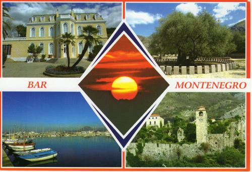 Thank you very much!  My first ever card from Montenegro and I'm very happy to get a beautiful card.