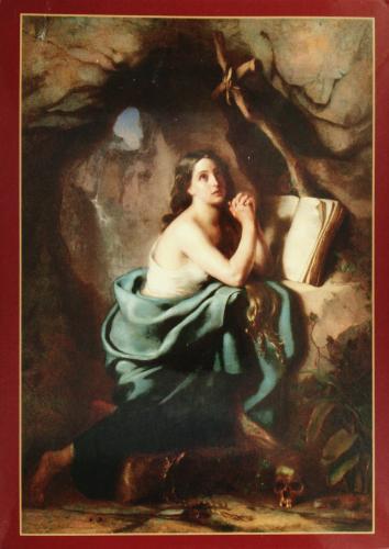 Apalinary Harauski: Repentant Mary Magdalene, 1861