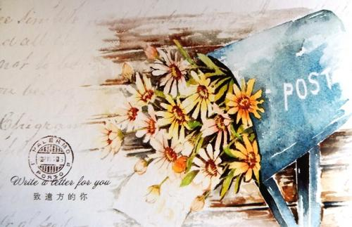 PostCrossing Sent to New Zealand - Esther Neela Blog