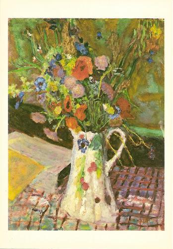 postcard nl 969144 pierre bonnard bouquet de fleurs des champs. Black Bedroom Furniture Sets. Home Design Ideas
