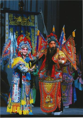 Beijing Opera is a national treasure of China