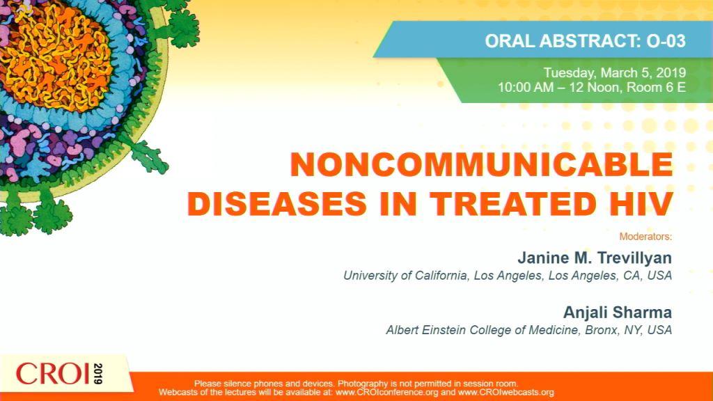 Player Linda Ann Battalora - NONCOMMUNICABLE DISEASES IN TREATED HIV