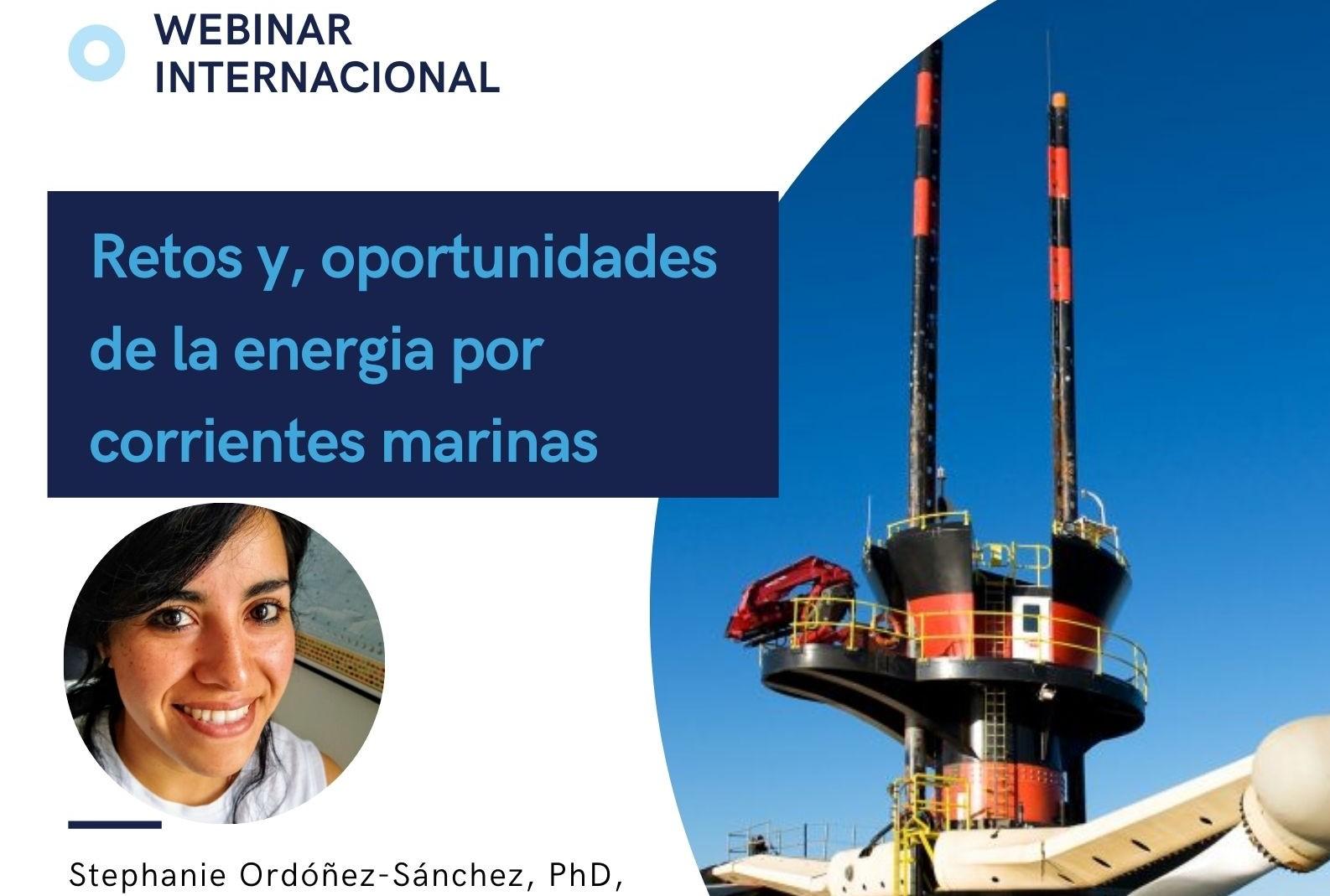 Webinar: Retos y oportunidades de la energía por corrientes marinas