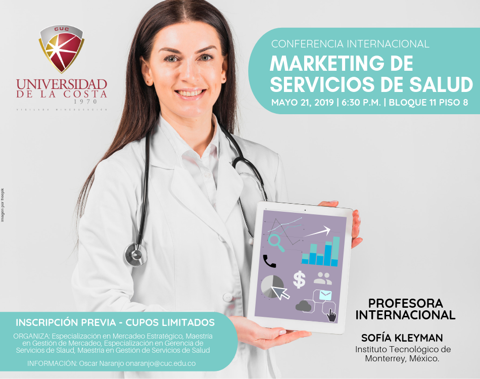 "Conferencia Internacional ""Marketing de servicios de salud"""