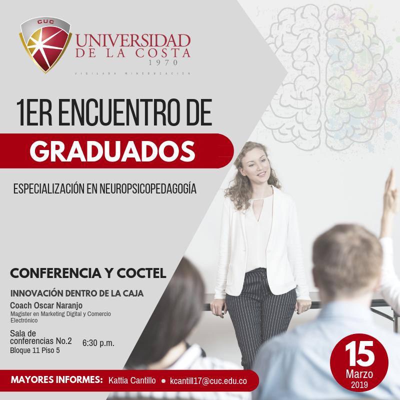 1er encuentro de graduados especialización neuropsicología