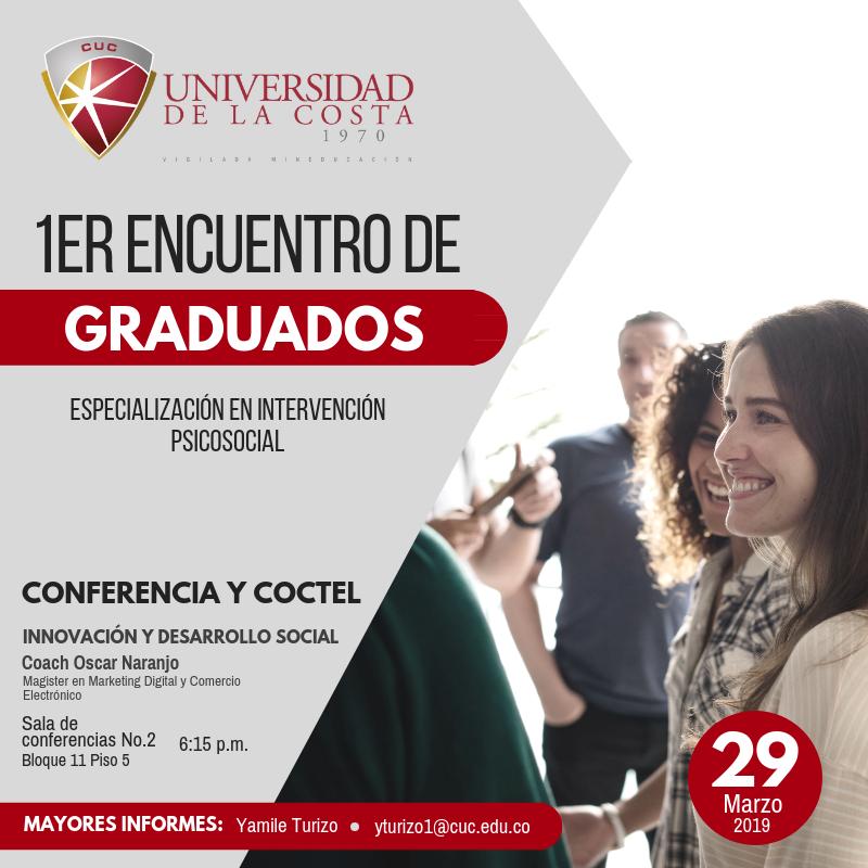 1er Encuentro de Graduados