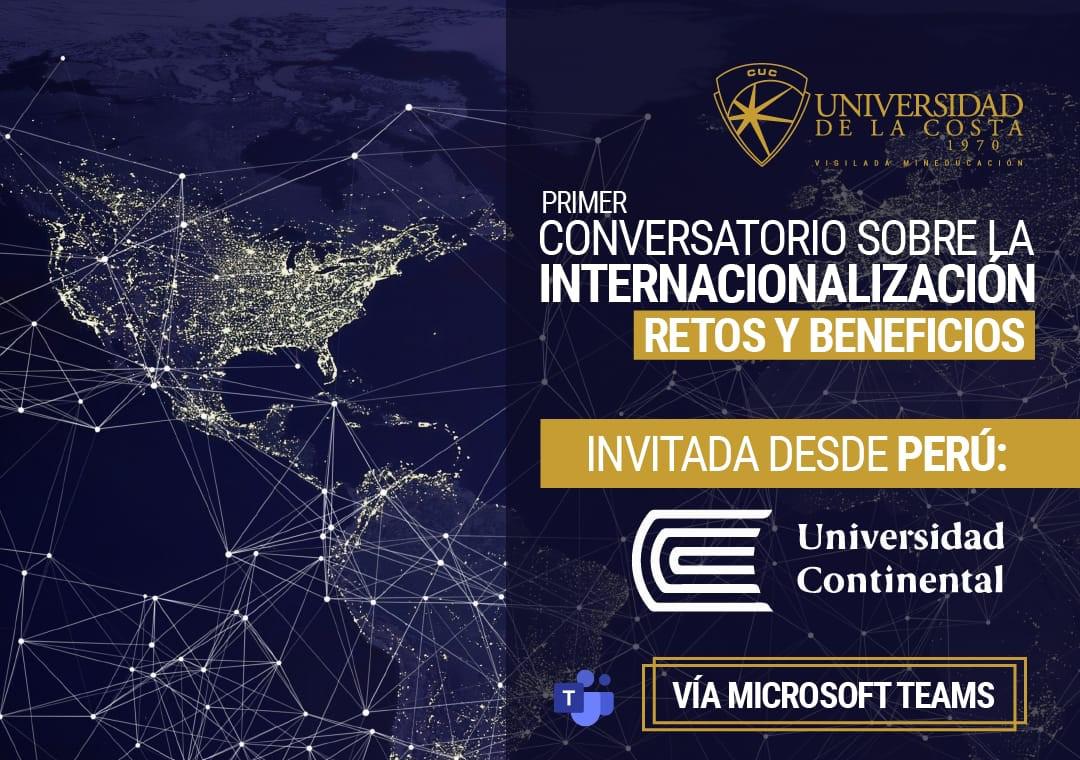Primer Conversatorio sobre la internacionalización: Retos y Beneficios