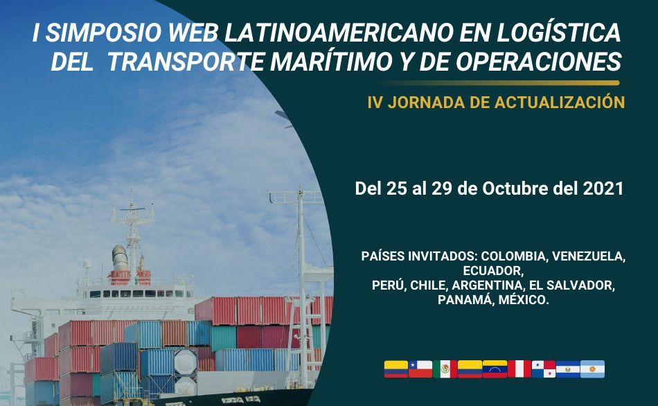 'I Simposio web latinoamericano en logística de transporte marítimo y de operaciones'