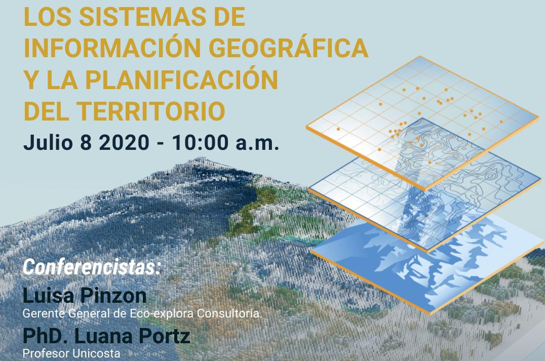 """Webinar """"Los sistemas de información geográfica y la planificación del territorio"""""""