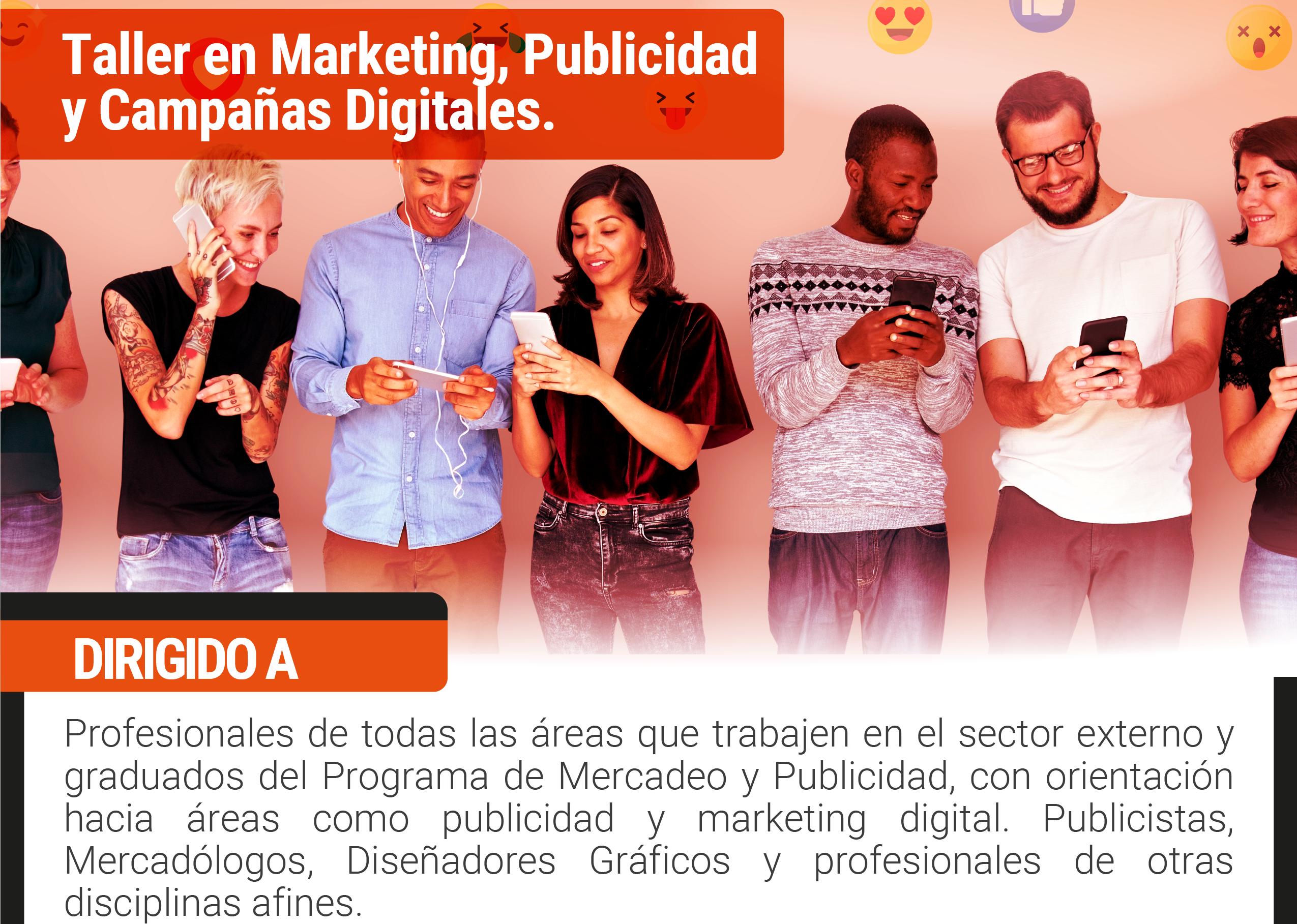 Taller en marketing, publicidad y campañas digitales