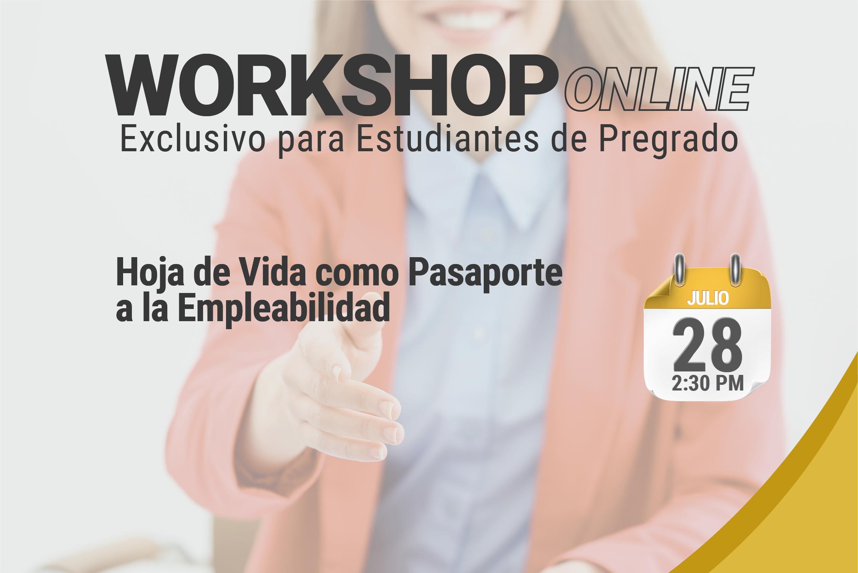 Workshop virtual: Tendencias en Construcción de Hoja de Vida