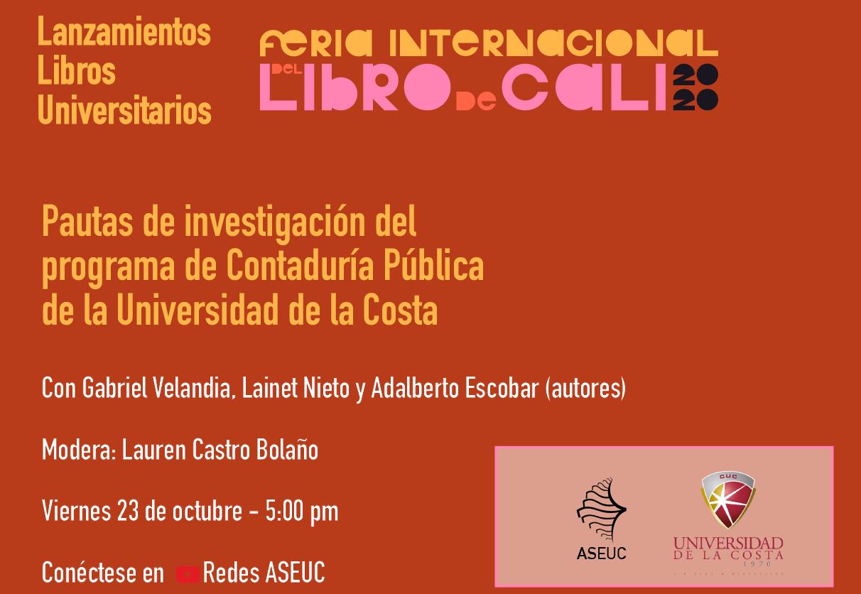 Feria internacional del libro de Cali 2020