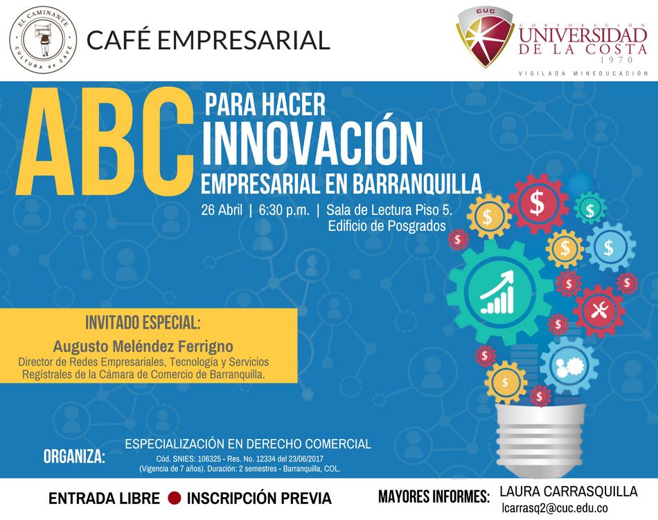 Café Empresarial: Especialización en Derecho Comercial