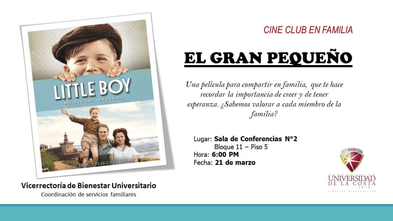 Cine Club en Familia: El gran pequeño