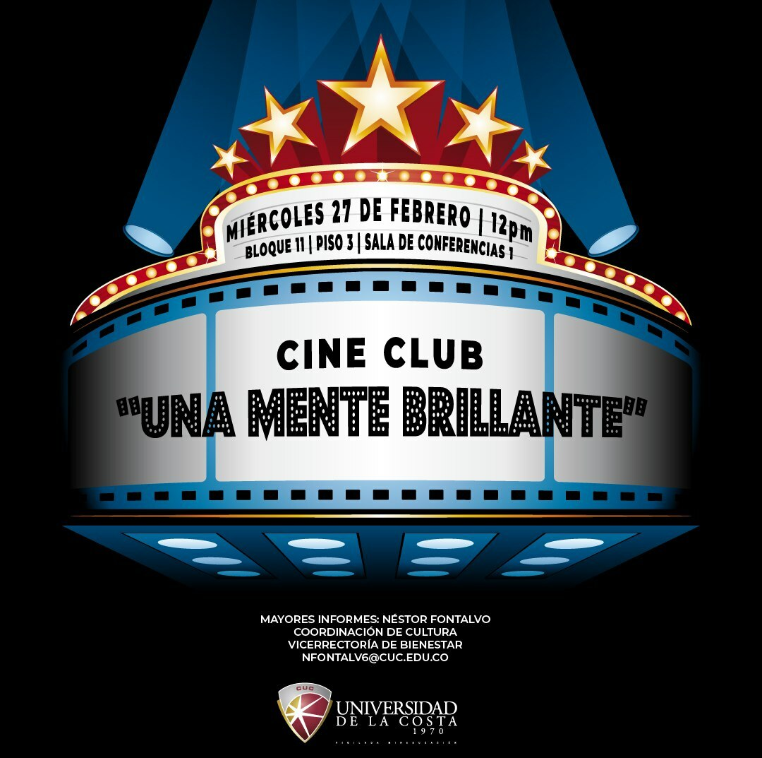 Cine club: Una mente brillante