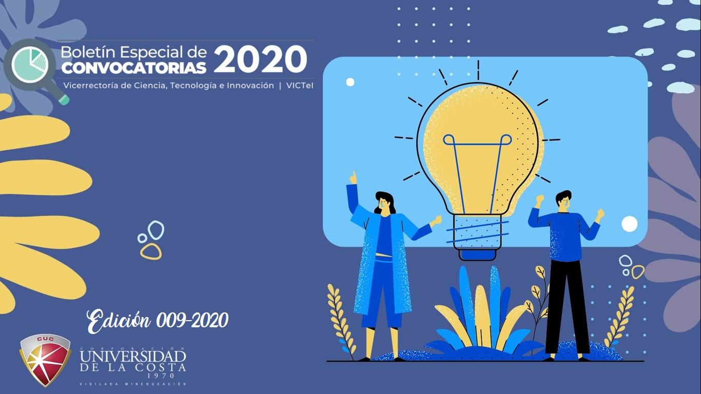 Boletín de Convocatorias 009-2020