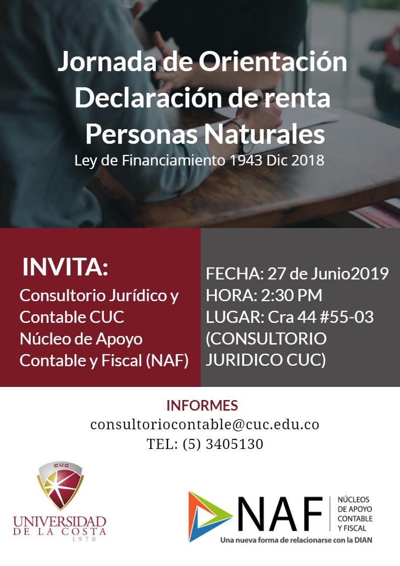 Jornada de Orientación Declaración de renta