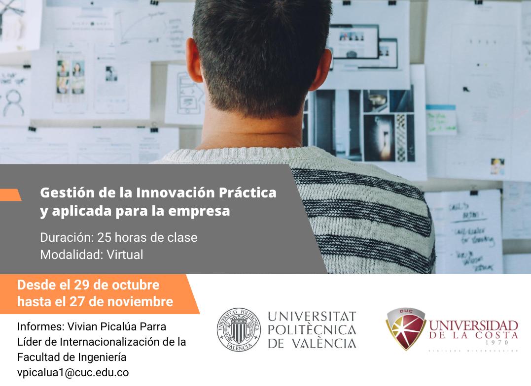 'Gestión de la innovación práctica y aplicada para la empresa'