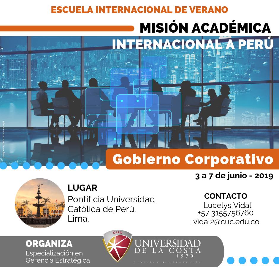 Misión Académica Internacional a Perú