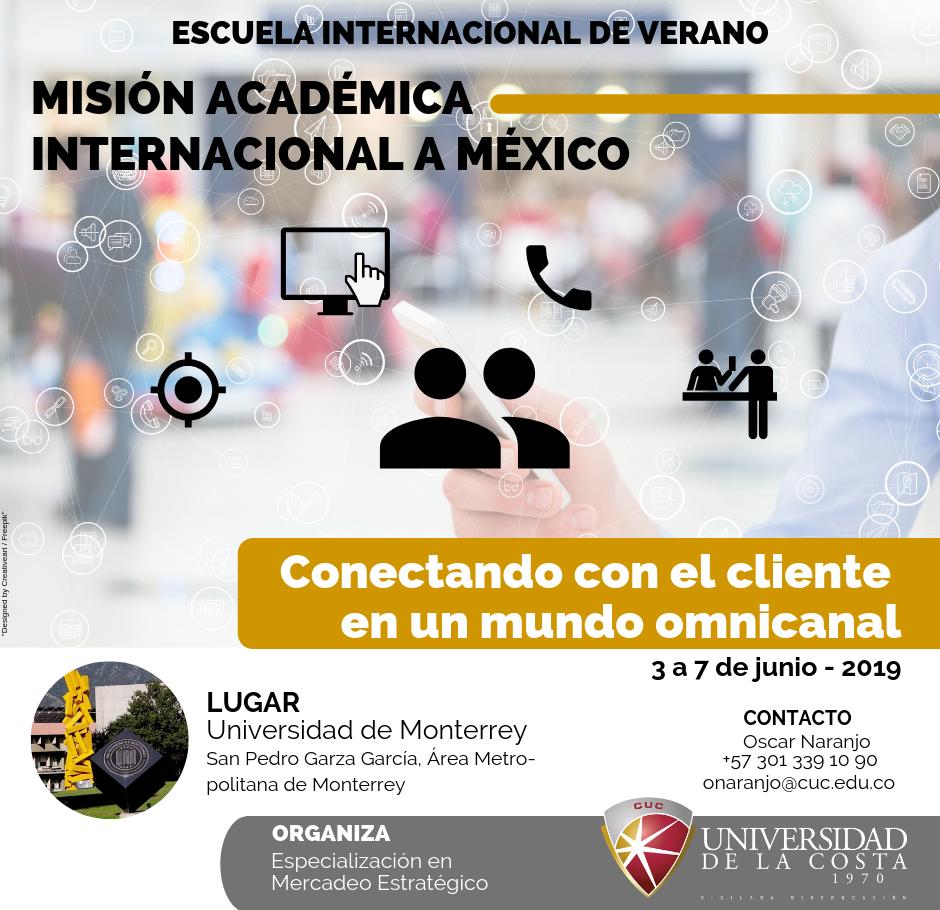 Escuela internacional de verano: Misión Académica Internacional a México