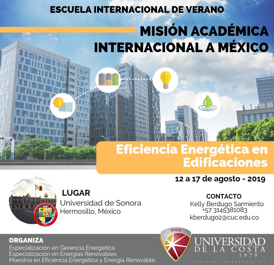 """Misión Académica Internacional """"Eficiencia energética en edificaciones"""""""