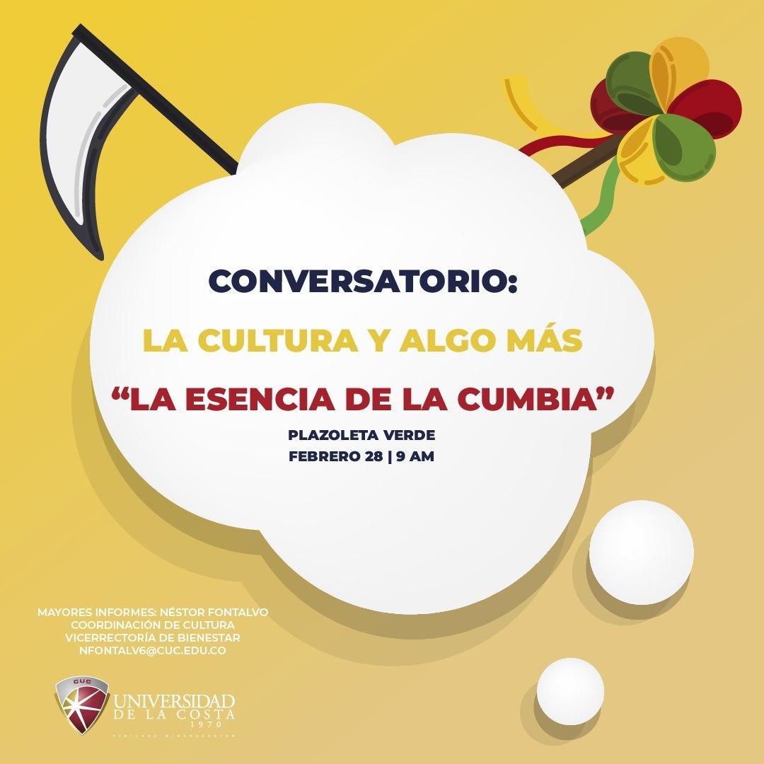 """Conversatorio: """"La esencia de la cumbia"""""""