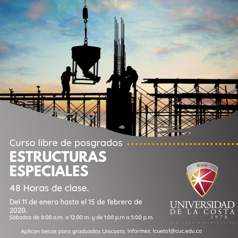 Estructuras especiales - Actualiza tus conocimientos con los cursos libres de Posgrado