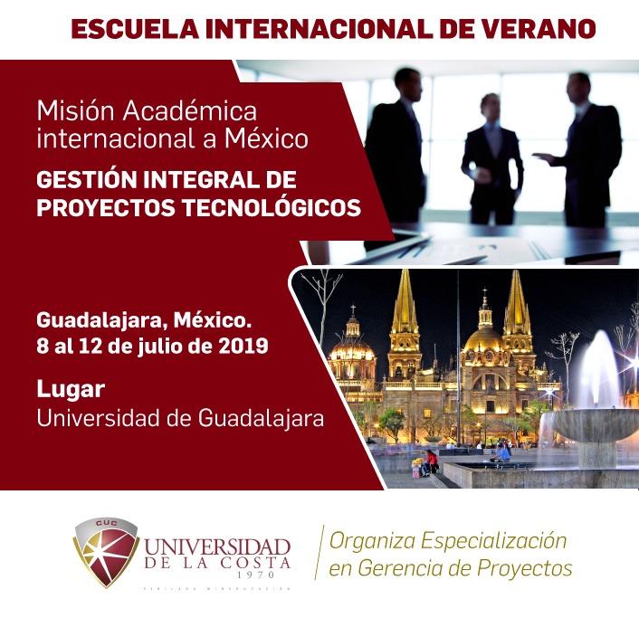 """Misión Académica Internacional """"Gestión integral de proyectos tecnológicos"""""""