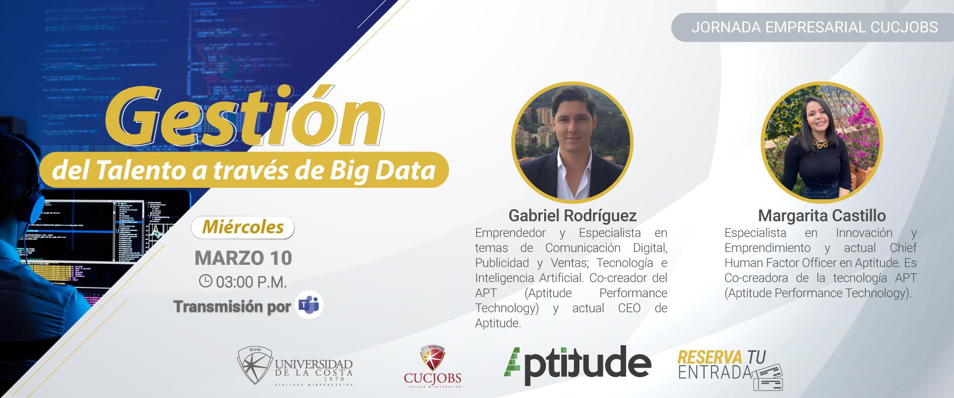 Jornada Empresarial Cucjobs: Gestión del Talento a Través de Big Data