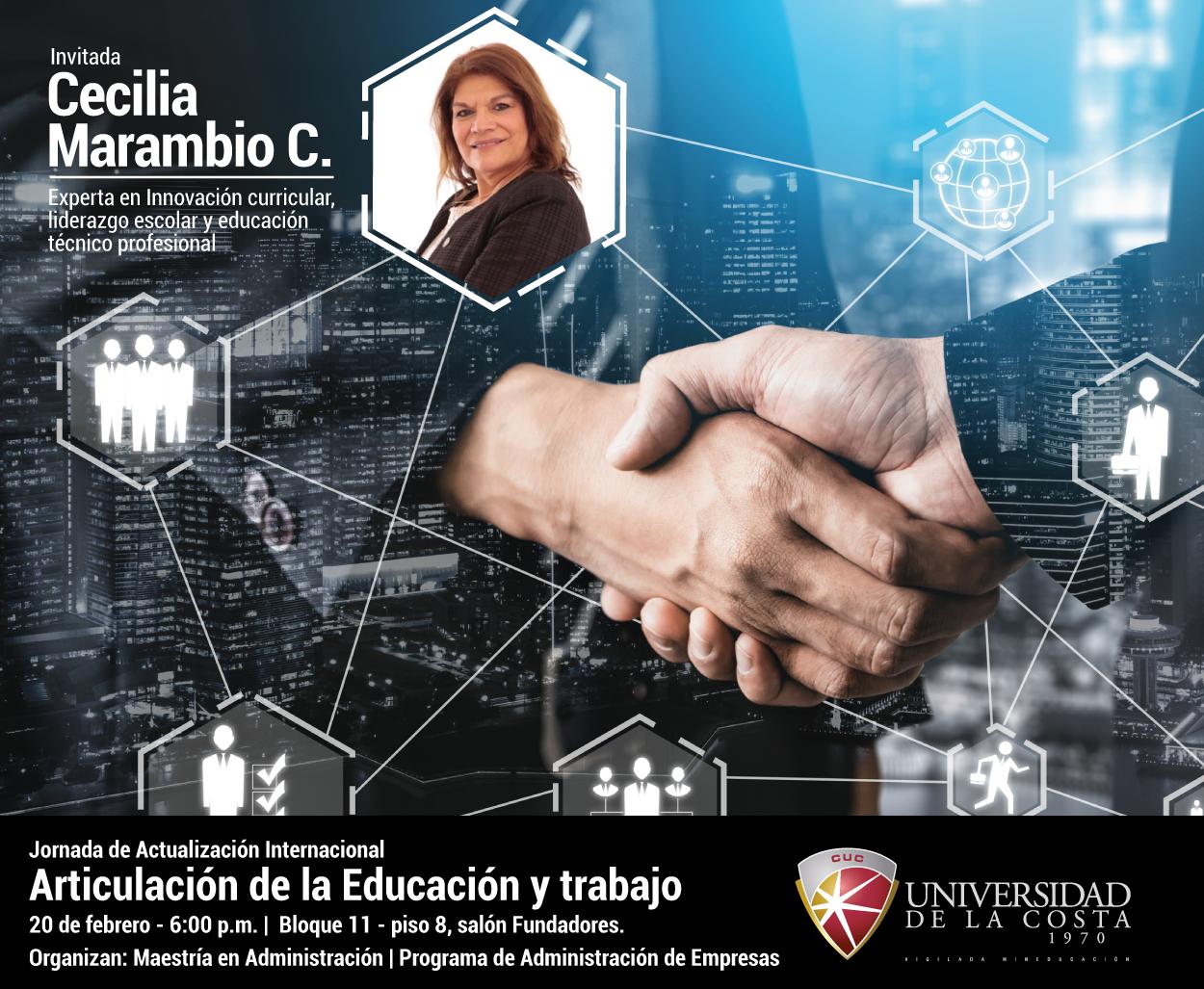 Jornada de Actualización Internacional, Articulación de la Educación y trabajo