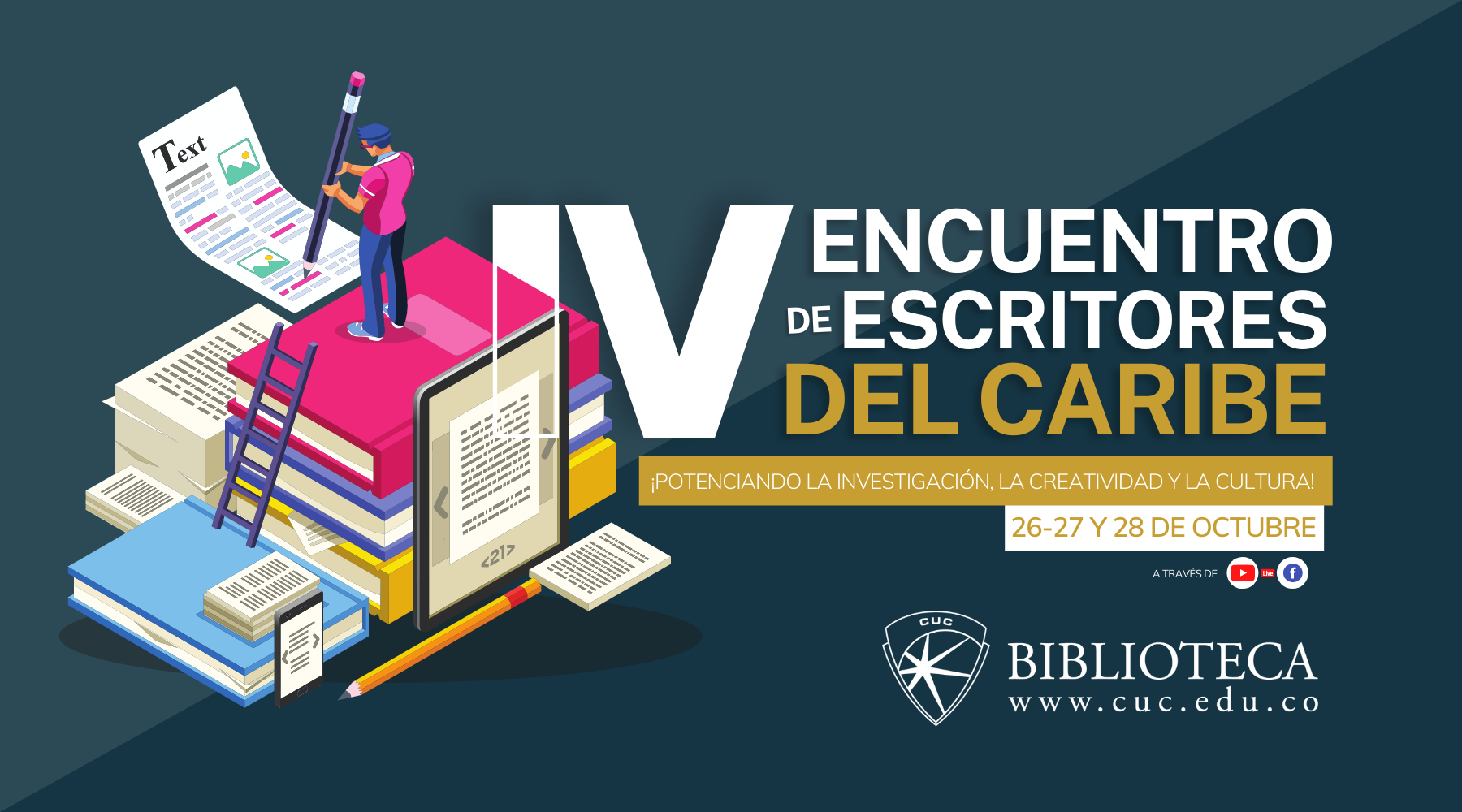 IV Encuentro de escritores del caribe colombiano