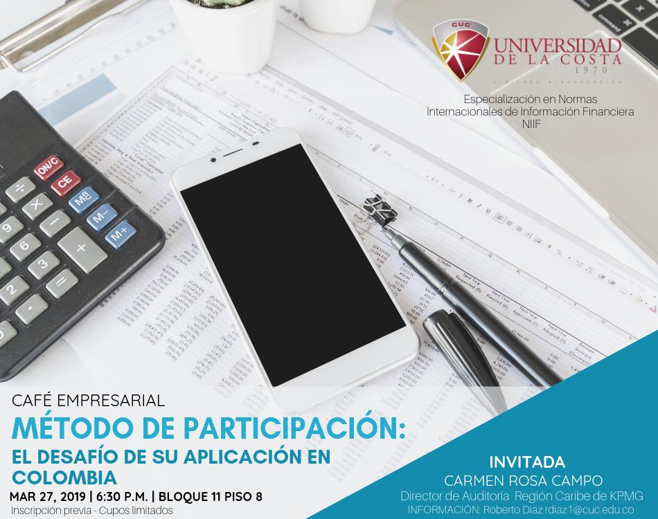 """Café empresarial """"Método de participación: el desafío de su aplicación en Colombia"""""""