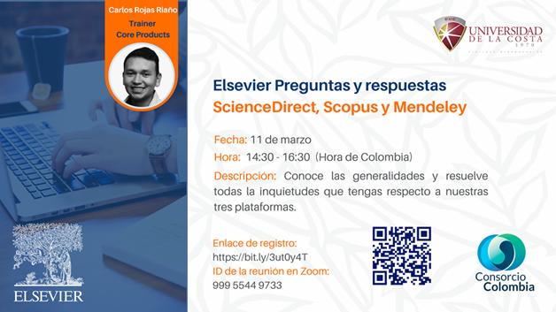 Sesión: 'Elsevier Preguntas y respuestas'