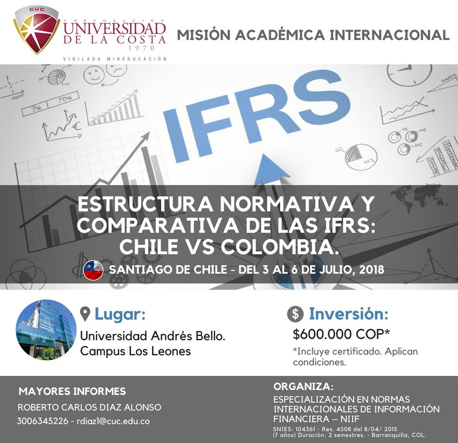 Misión Académica a la Universidad Andrés Bello de Chile