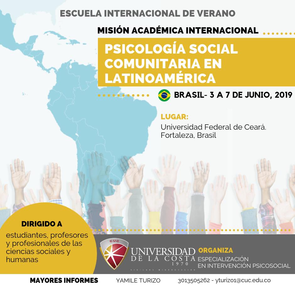 Misión Académica Internacional a Brasil