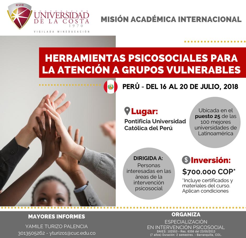 Misión Académica Internacional a la Pontificia Universidad Católica del Perú