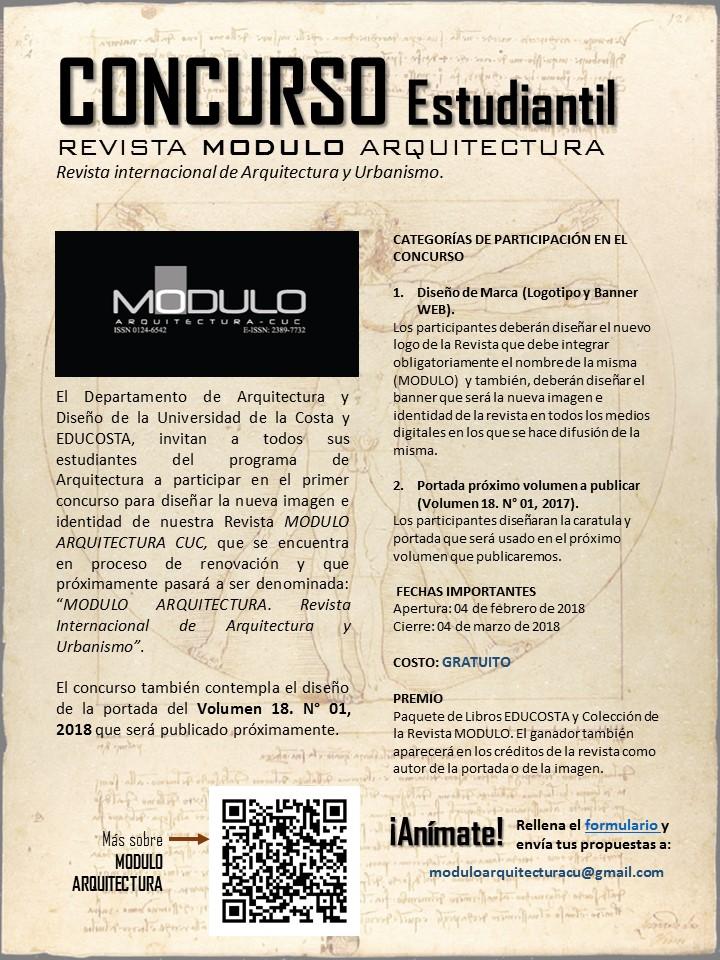 Concurso Estudiantil: REVISTA MODULO ARQUITECTURA