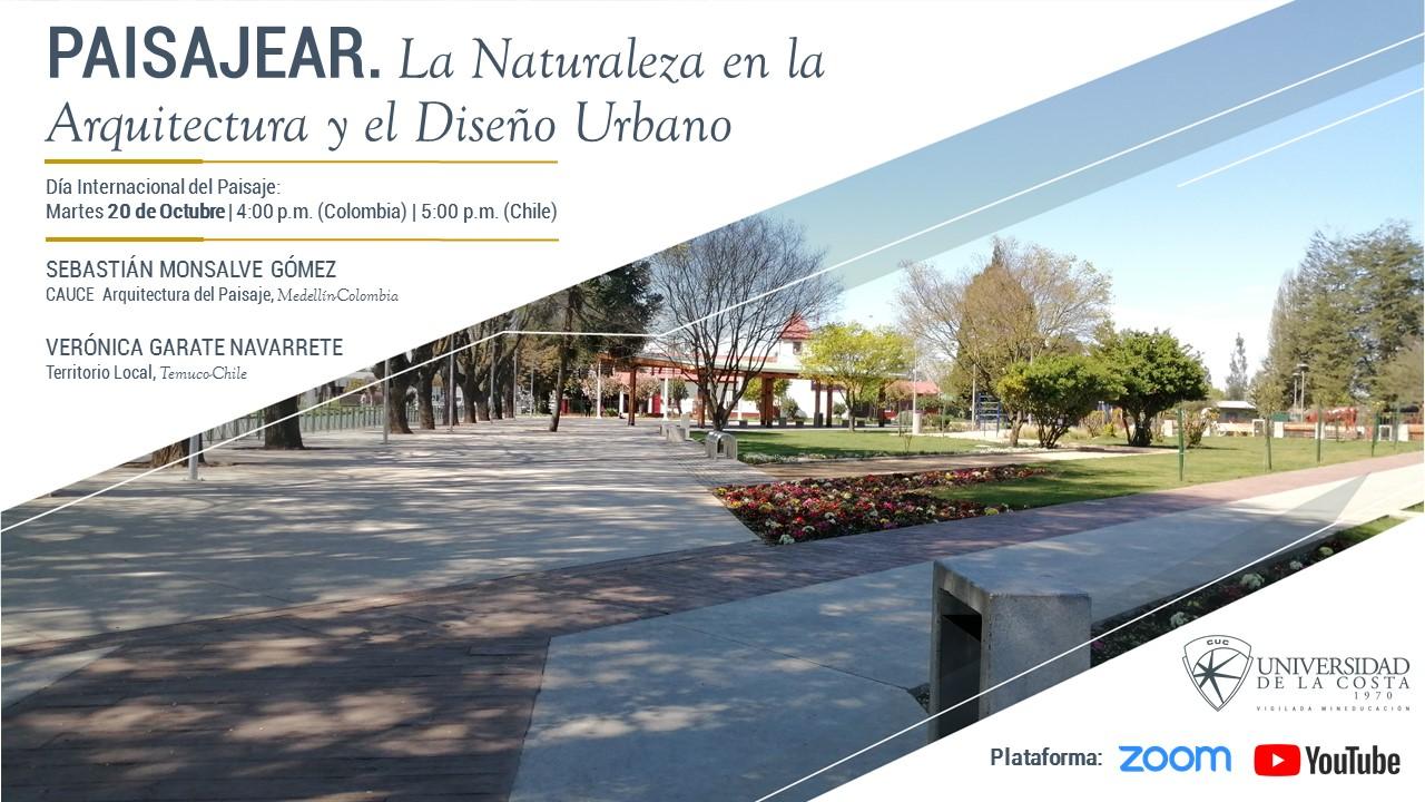 Paisajear: La naturaleza en la arquitectura y el diseño urbano