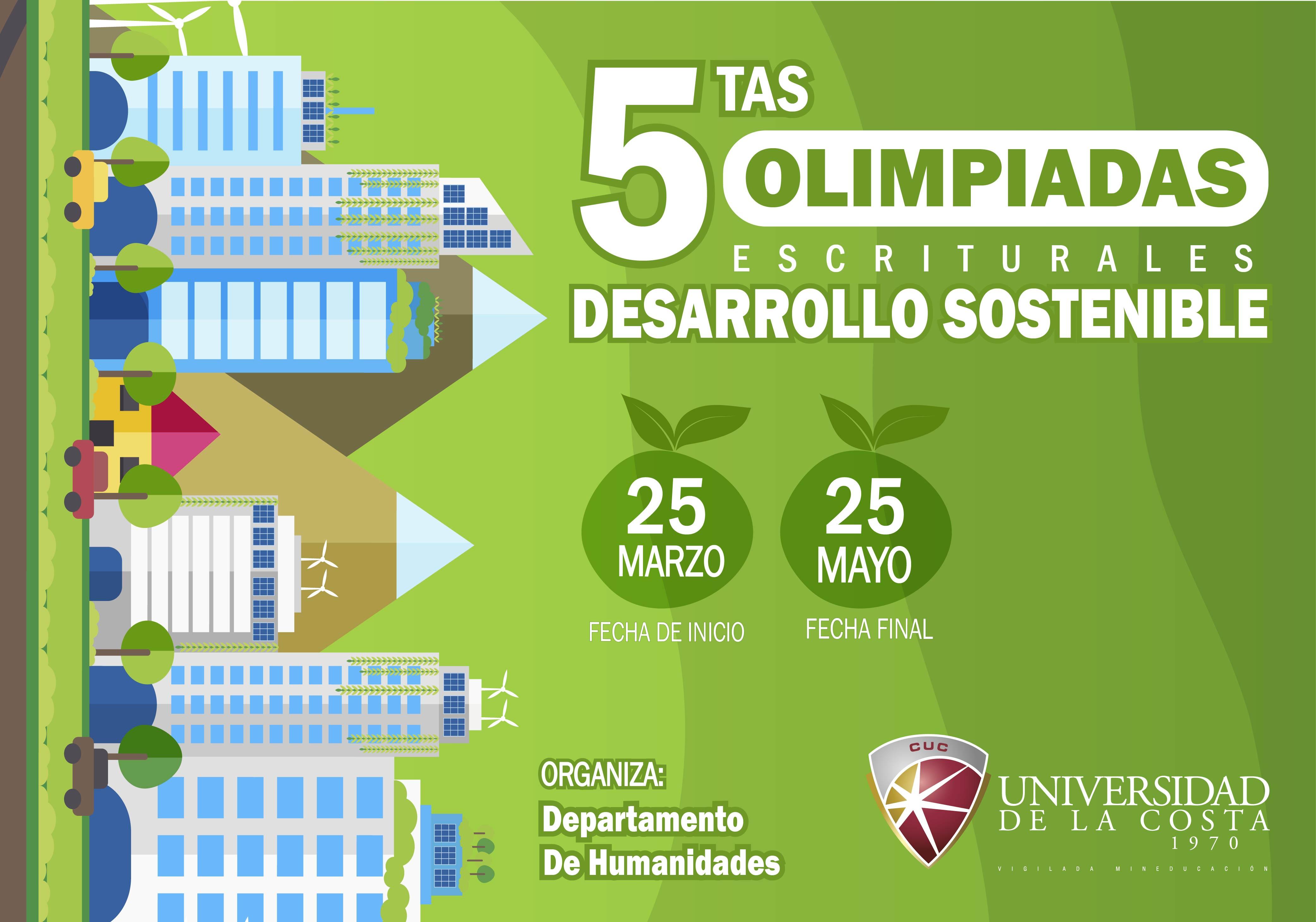 Quintas Olimpiadas Escriturales Desarrollo Sostenibles