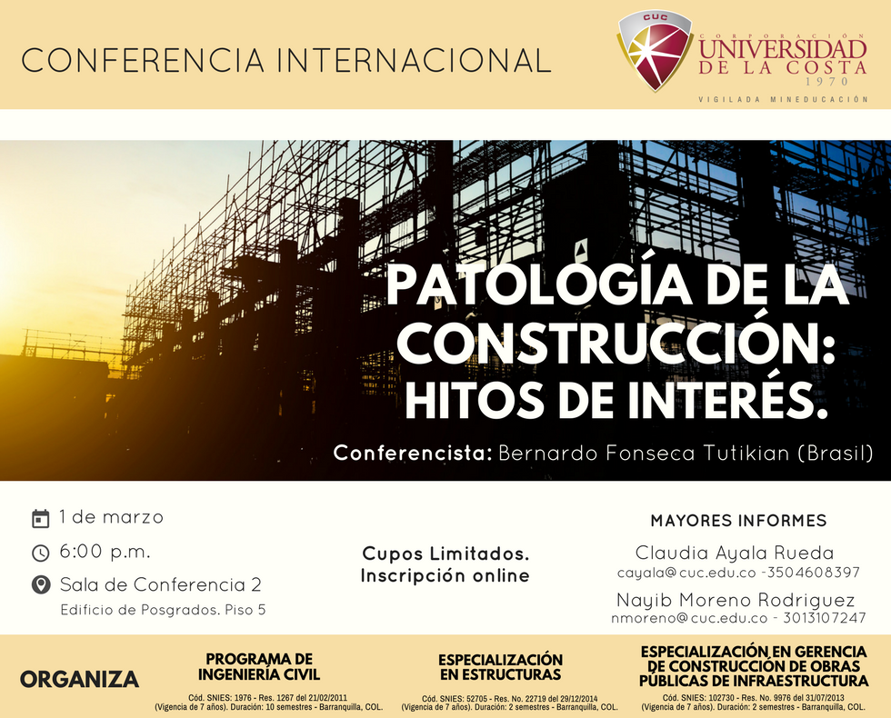 Patología de la construcción: hitos de interés