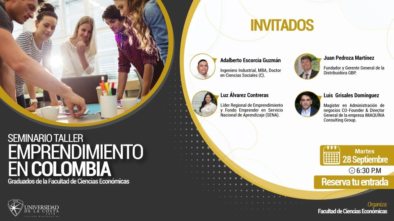 Seminario Taller 'Emprendimiento en Colombia'