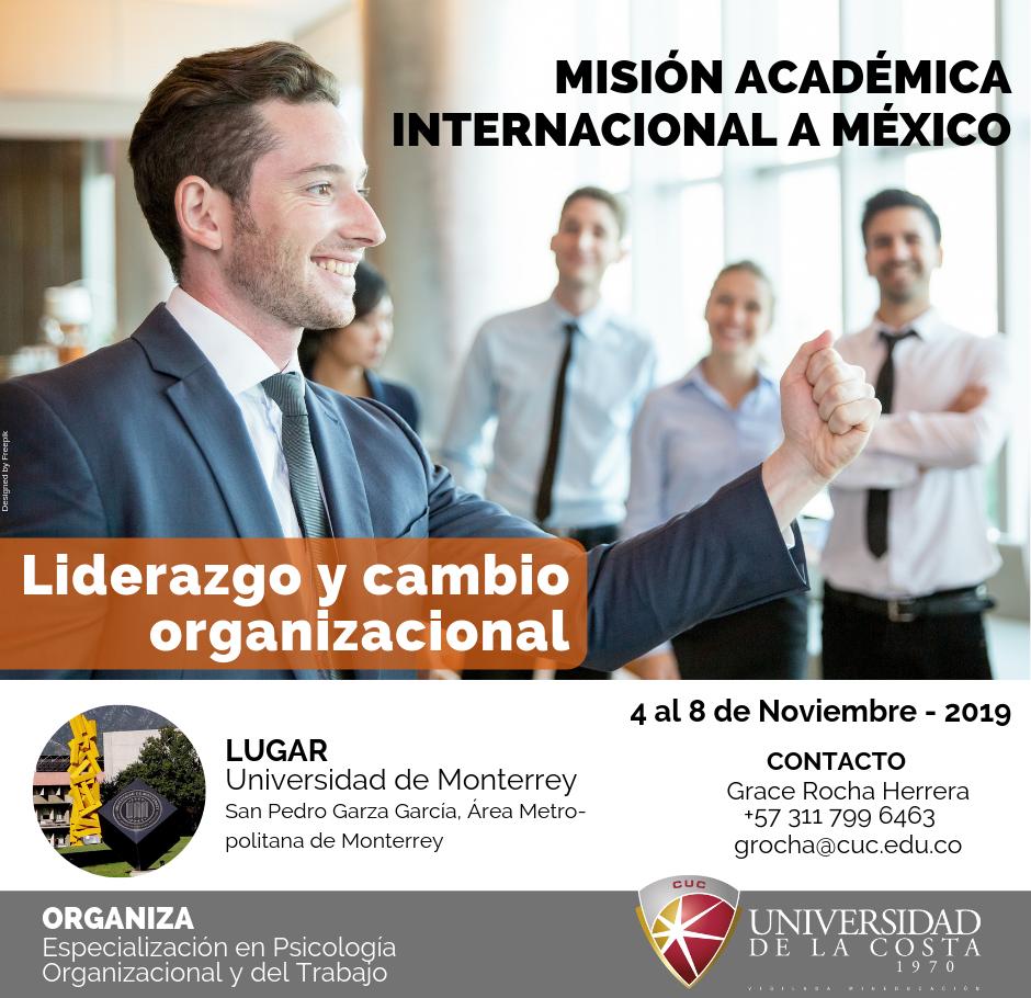 """Misión Académica Internacional """"Liderazgo y Cambio Organizacional"""""""