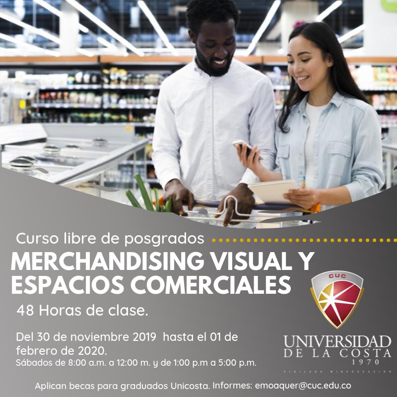 Merchandising visual y espacios comerciales - Actualiza tus conocimientos con los cursos libres de Posgrado